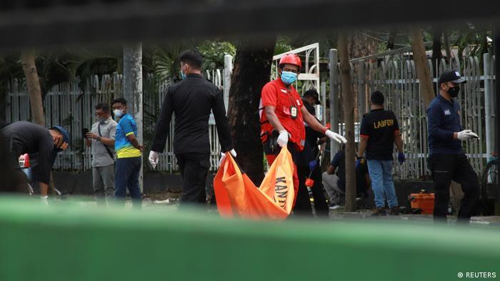 Aksi teror di Makassar