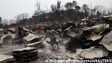 Bangladesch | Brand zerstört Ronhingya Flüchtlingscamp in Cox's Bazar
