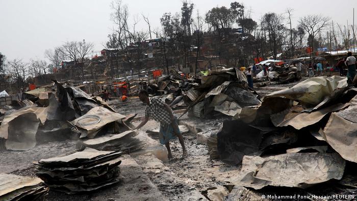 Rohingya camp in Cox's Bazar