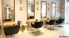 Salon Jumino Kristrinanto yang berlokasi di Charlottenburg, Berlin