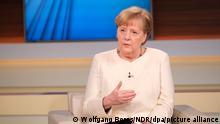 Bundeskanzlerin Angela Merkel zu Gast bei Anne Will