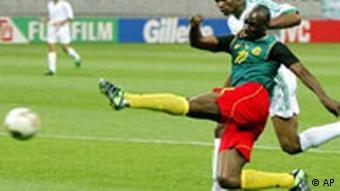 WM 2002 - Kamerun gegen Saudi Arabien