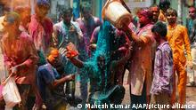 Indien Holi Festival