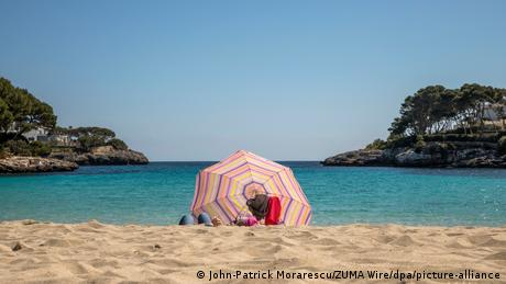 Spanien Mallorca   Coronavirus   Strand Urlaub