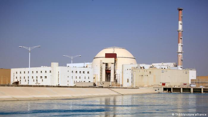 A view of the Bushehr Nuclear Power Plant