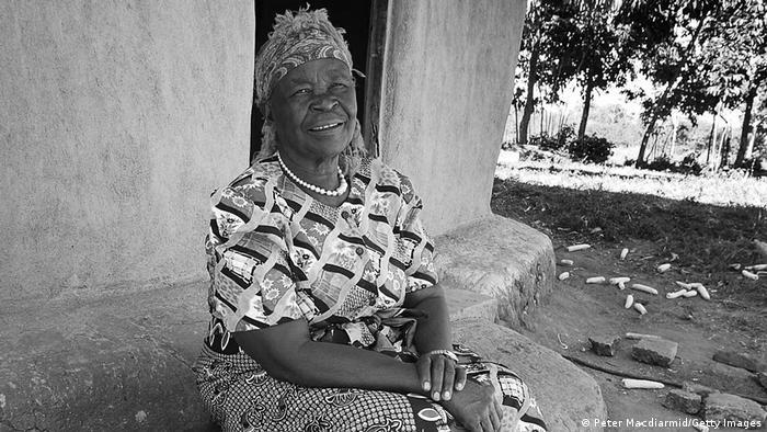 Afrika Kenia Sarah Obama Porträt