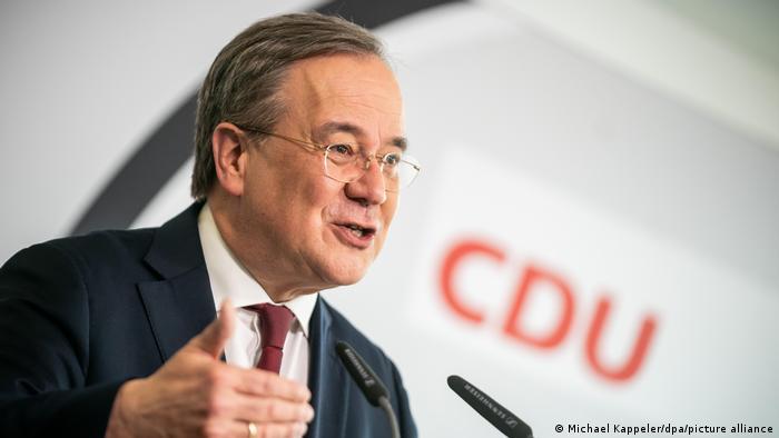 CDU's Armin Laschet