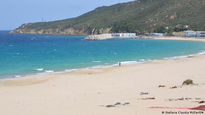 صورة لشاطئ داليا قرب طنجة