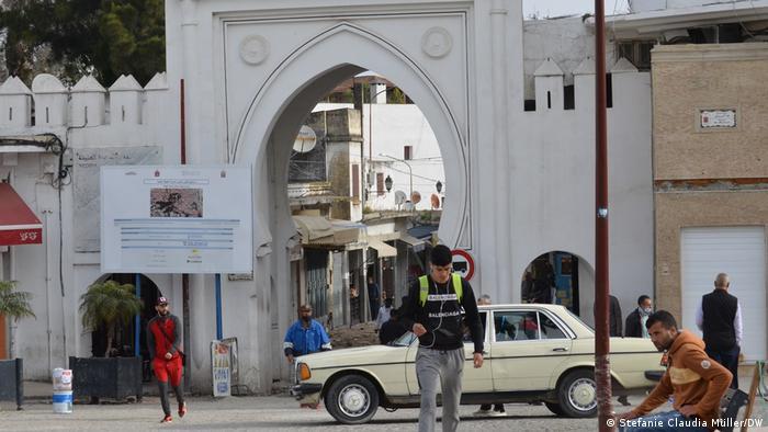 بوابة المدينة القديمة في طنجة