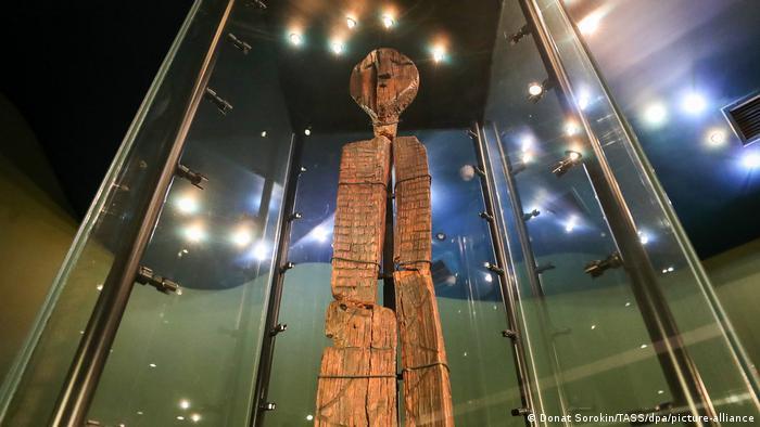 Russland Yekaterinburg | Shigir Idol | Sverdlovsk Regional Museum