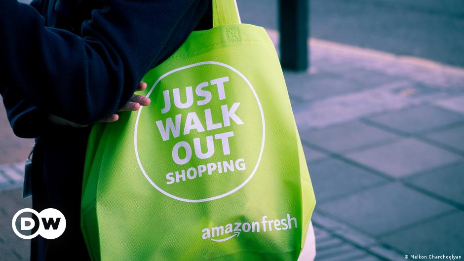 Shopping in Amazon's supermarket of the future