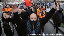 Proteste in Rumänien gegen Corona-Schutzmaßnahmen