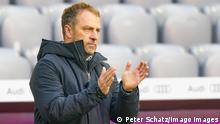 German Bundesliga FC BAYERN MUENCHEN - VFB STUTTGART 4-0 Trainer Hansi, Hans-Dieter Flick