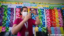Weltspiegel 30.03.2021 | Brasilien | Impfzentrum in Brasilia