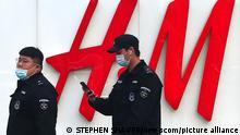 China boykottiert westliche Bekleidungs-Firmen