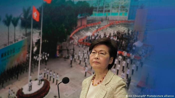 Hongkong China Carrie Lam