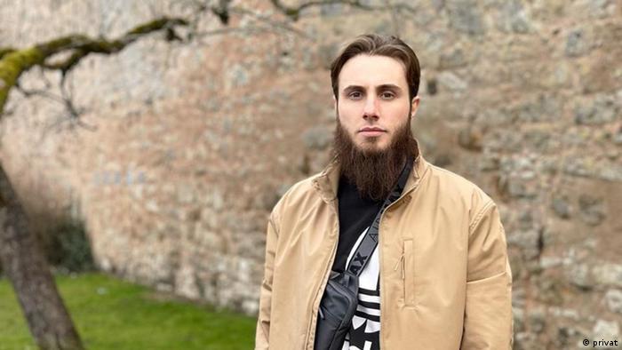 Чеченский беженец в Германии Мохмад Абдурахманов