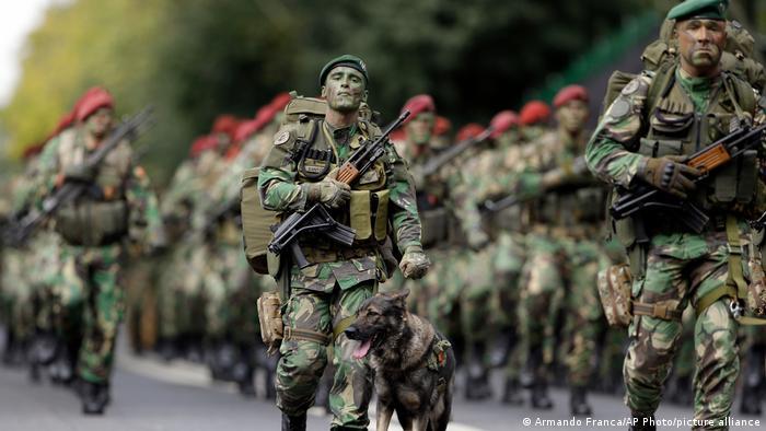 Portugal Armee Soldaten
