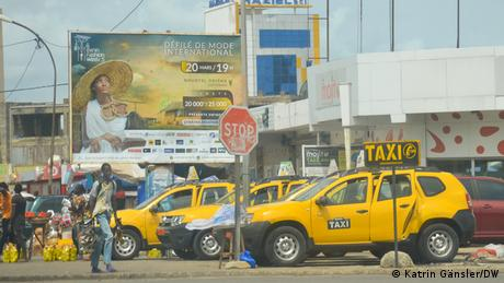 Taxis in Cotonou