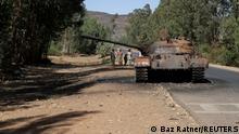 Bildergalerie Äthiopien |Flucht aus der Region Tigray