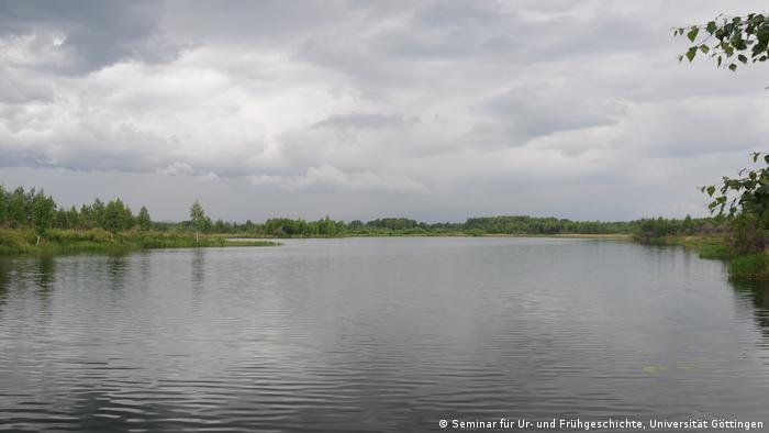 Das seeähnliche Shigir-Moor in Russland