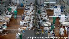 Brasilien | Menschen in überfüllten Krankenhäusern