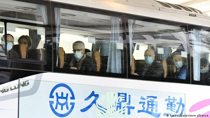 WHO exports arrive in Wuhan to begin a probe into the origins of coronavirus
