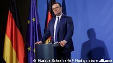 Deutschland PK Gesundheitsminister Jens Spahn
