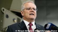 Australien Premierminister Scott Morrison