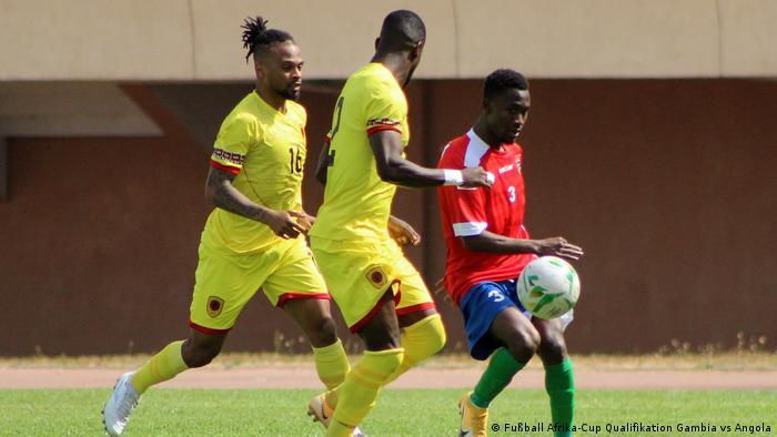 Fußball Afrika-Cup Qualifikation Gambia vs Angola