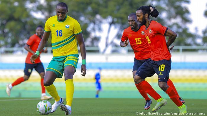 Fußball Afrika-Cup Qualifikation Ruanda vs Mosambik