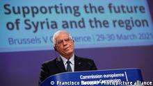 Belgien Brüssel | Pressekonferenz Internationale Geberkonferenz Syrien | Josep Boorrell
