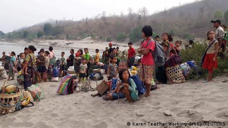 Thailand   Flüchtlinge aus Myanmar an der Grenze