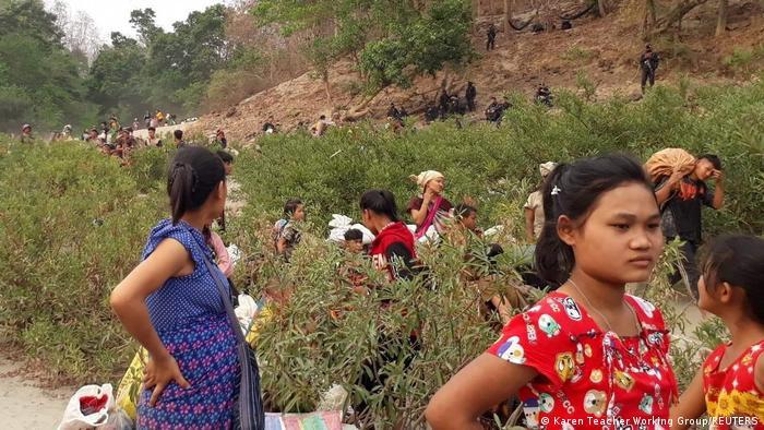 Thailand | Flüchtlinge aus Myanmar an der Grenze