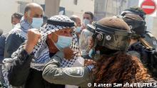 Weltspiegel 31.03.2021   Westjordanland   Anti-Israel Proteste in der West-Bank