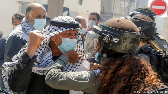 Enfrentamientos en Cisjordania.