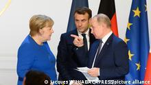 Weltspiegel 31.03.2021 | Sputnik-Gespräche Merkel Macron Putin