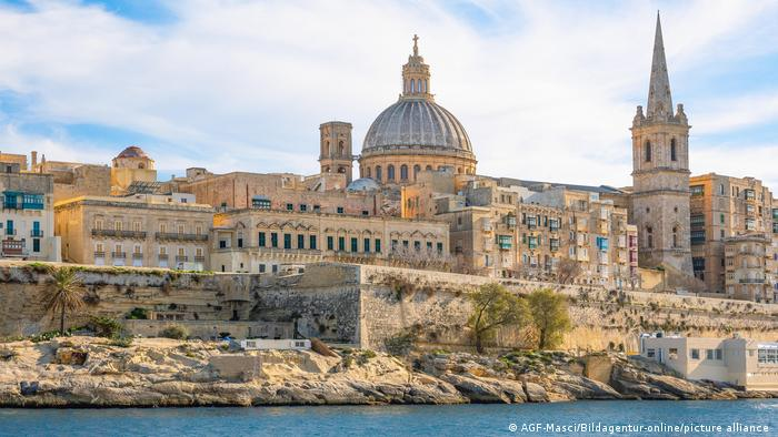 Malta Valletta Stadtansicht
