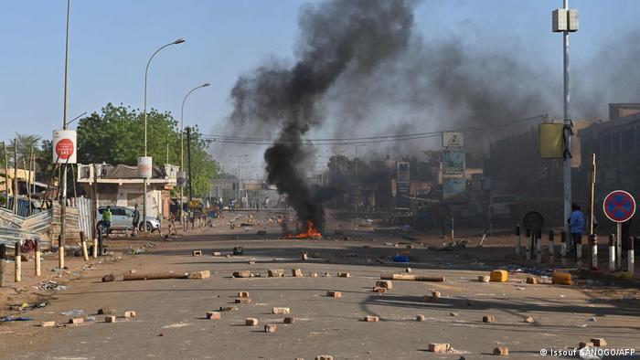 Niger Niamey | Gewalt bei Protesten