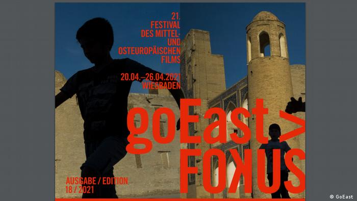 Плакат кинофестиваля goEast - 2021