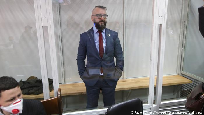 Андрій Антоненко у залі суду