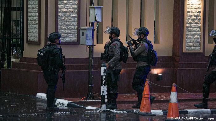 Indonesien Jakarta | Schüsse am Polizeihauptquartier