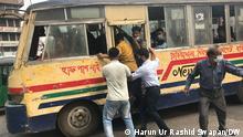 Bangladesch   Coronavirus  Öffentlicher Nahverkehr in Dhaka