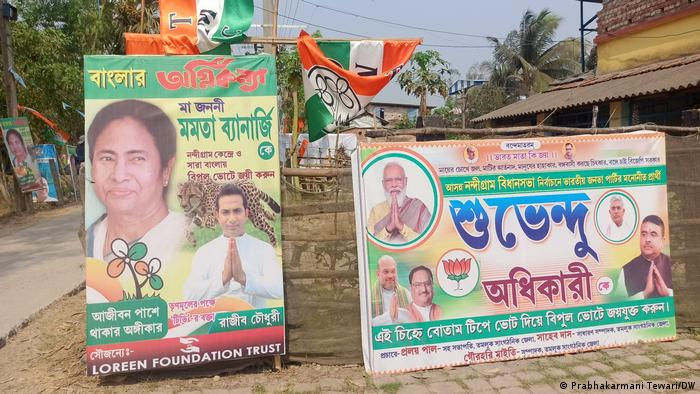 Indien | Westbengalen Regionalwahlen | Wahlplakate