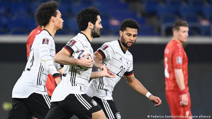 Fußball: WM-Qualifikation Europa, Deutschland - Nordmazedonien
