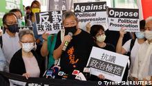 Hongkong Aktivisten wegen großer Demokratie-Kundgebung verurteilt