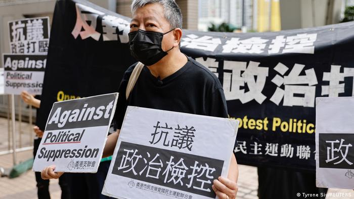 Суд визнав винними сімох продемократичних активістів у Гонконзі