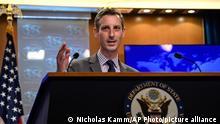 USA Sprecher des Außenministeriums Ned Price