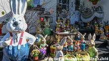 Пасхальные зайцы в Шпревальде