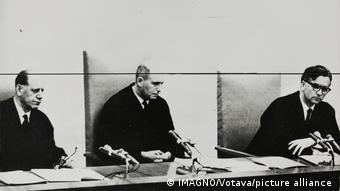 Τρεις από τους δικαστές του Άιχμαν